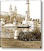 Louisiana Monument, 1904 World's Fair Metal Print