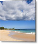 Makena Beach Metal Print