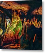 Marble Cave Crimea Metal Print