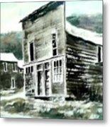 Marysville Ghost Town Montana Metal Print