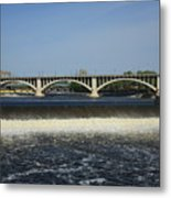 Minneapolis - Saint Anthony Falls Metal Print