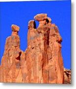Moab Landscape Metal Print