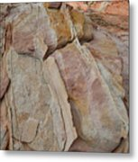 Morning In Valley Of Fire State Park Metal Print