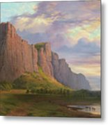 Mount Arapiles And The Mitre Rock Metal Print