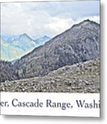 Mount Baker, Cascade Range, Washington State Metal Print