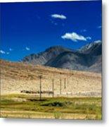 Mountains Of Leh Ladakh Jammu And Kashmir India Metal Print