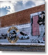 Mural - Downtown Bristol Tennessee/virginia Metal Print
