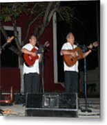 Musicians In The Park Candelaria In Valladolid Metal Print