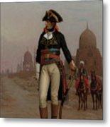 Napoleon In Egypt Metal Print