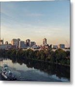 Nashville Tennessee Skyline Sunrise  Metal Print