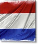 Netherlands Flag Metal Print
