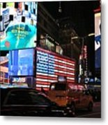 New York City Times Square Metal Print