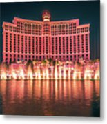 November 2017 Las Vegas Nevada - Scenes Around Bellagio Resort H Metal Print
