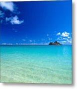 Oahu, Lanikai Beach Metal Print