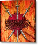 3 Of Swords Metal Print