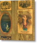 Old West Antiques Metal Print