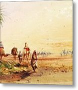 On The Road To Thebes Metal Print