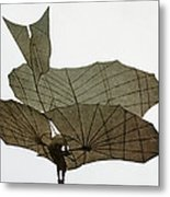 Otto Lilienthal (1848-1896) Metal Print