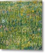 Patch Of Grass Metal Print