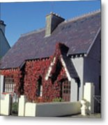Perfect Cottage In A Perfect Village Metal Print