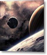 Planets Metal Print