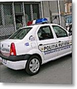 Police Metal Print