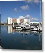Port Canaveral Florida Usa Metal Print