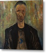 Portrait Of A Man Metal Print