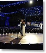 President And Michelle Obama Metal Print by Everett