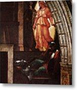 Raphael The Liberation Of St Peter  Metal Print