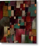 Redgreen And Violet-yellow Rhythms Metal Print