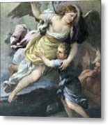 Rendition Of A Guardian Angel Metal Print