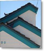 3 Roofs Metal Print