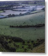 Roundway Hill - England Metal Print