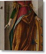 Saint Catherine Of Alexandria Metal Print
