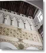 Santa Maria La Blanca Synagogue - Toledo Spain Metal Print