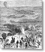 Siege Of Paris, 1870 Metal Print