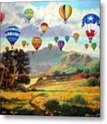 Sky Full Of Color Metal Print