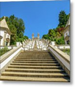 Staircase Of Bom Jesus Do Monte Metal Print