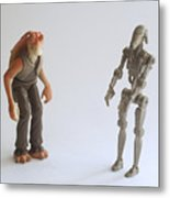 Star Wars Action Figure Metal Print