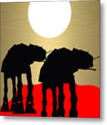 Star Wars At-at Collection Metal Print