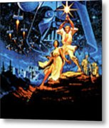 Star Wars Episode Iv - A New Hope 1977 Metal Print