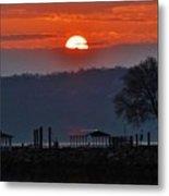 Stony Point Sunrise Metal Print