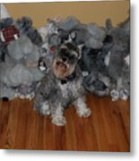 Stuffed Animals Metal Print