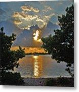 3- Sunrise Cruise Metal Print