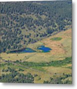 Superb Landscape In Rocky Mountain National Park Metal Print