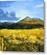 Taos Mountain Metal Print