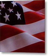 The American Flag Metal Print