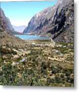 The Andes Metal Print