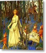 The Fairy Wood Henry Meynell Rheam Metal Print